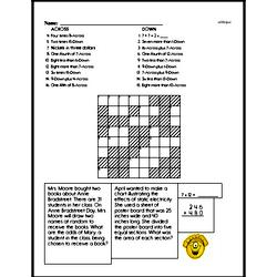 Sixth Grade Multiplication Worksheets Worksheet #4