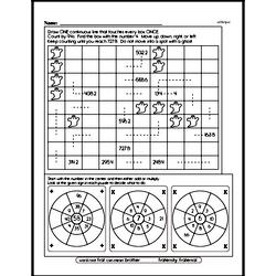 Sixth Grade Multiplication Worksheets Worksheet #9