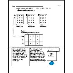 Sixth Grade Multiplication Worksheets Worksheet #10