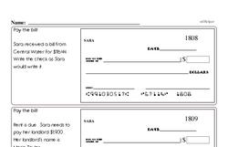 Order of Operations Worksheets - Free Printable Math PDFs Worksheet #3