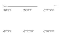 Order of Operations Worksheets - Free Printable Math PDFs Worksheet #14