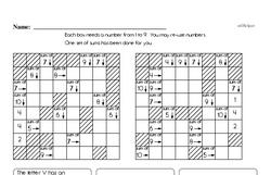 Order of Operations Worksheets - Free Printable Math PDFs Worksheet #10