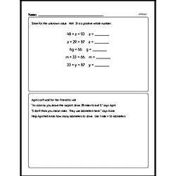Order of Operations Worksheets - Free Printable Math PDFs Worksheet #15