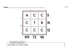 Order of Operations Worksheets - Free Printable Math PDFs Worksheet #8