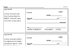 Sixth Grade Number Sense Worksheets Worksheet #12