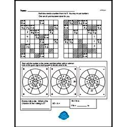 Sixth Grade Number Sense Worksheets Worksheet #14