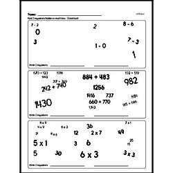 Sixth Grade Number Sense Worksheets Worksheet #2