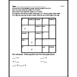 Number Theory Math Logic Puzzle