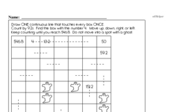 Sixth Grade Patterns Worksheets - Number Patterns Worksheet #2