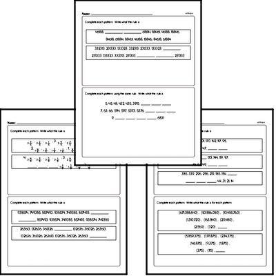 Patterns Mixed Math PDF Book