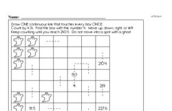 Pattern Worksheets - Free Printable Math PDFs Worksheet #95