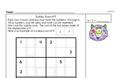 Addition and Subtraction Logic Fun Practice Book