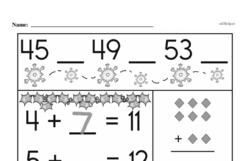 Addition Worksheets - Free Printable Math PDFs Worksheet #465