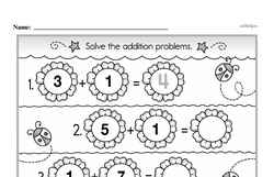 Addition Worksheets - Free Printable Math PDFs Worksheet #489