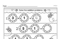 Addition Worksheets - Free Printable Math PDFs Worksheet #416
