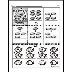 Addition Worksheets - Free Printable Math PDFs Worksheet #396