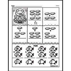 Addition Worksheets - Free Printable Math PDFs Worksheet #649