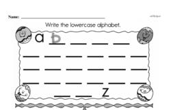Kindergarten Data Worksheets Worksheet #10