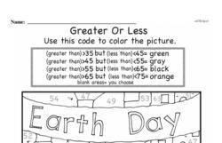 Kindergarten Data Worksheets Worksheet #11