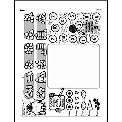 Kindergarten Data Worksheets Worksheet #12