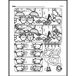 Kindergarten Data Worksheets Worksheet #14