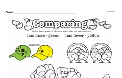 Kindergarten Data Worksheets Worksheet #5
