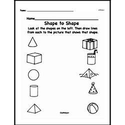 free kindergarten geometry pdf worksheets. Black Bedroom Furniture Sets. Home Design Ideas
