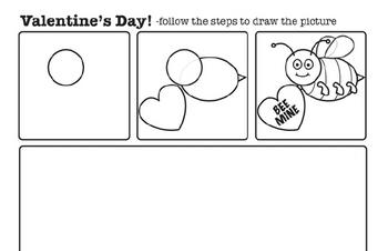 Valentine S Day Worksheets Free Pdf Printables Edhelper Com - 22+ Valentine Worksheets For Kindergarten Free Background