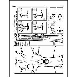 Kindergarten Math Challenges Worksheets - Puzzles and Brain Teasers Worksheet #48