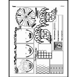 Kindergarten Math Challenges Worksheets - Puzzles and Brain Teasers Worksheet #6