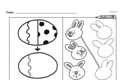 Kindergarten Math Challenges Worksheets - Puzzles and Brain Teasers Worksheet #57
