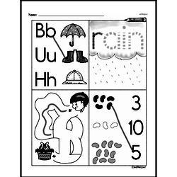 Kindergarten Math Challenges Worksheets - Puzzles and Brain Teasers Worksheet #63