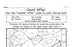 Kindergarten Math Challenges Worksheets - Puzzles and Brain Teasers Worksheet #55