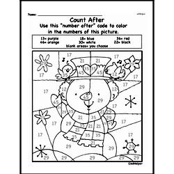 Kindergarten Math Challenges Worksheets - Puzzles and Brain Teasers Worksheet #42
