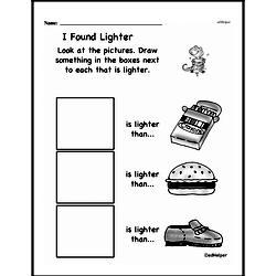 Kindergarten Math Challenges Worksheets - Puzzles and Brain Teasers Worksheet #2