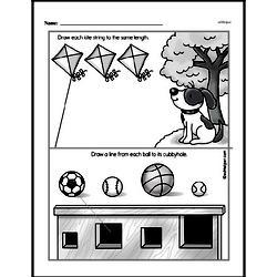 Kindergarten Math Challenges Worksheets - Puzzles and Brain Teasers Worksheet #75