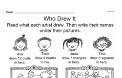 Kindergarten Math Challenges Worksheets - Puzzles and Brain Teasers Worksheet #43