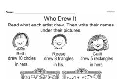 Kindergarten Math Challenges Worksheets - Puzzles and Brain Teasers Worksheet #20