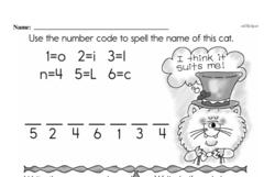 Kindergarten Math Challenges Worksheets - Puzzles and Brain Teasers Worksheet #61