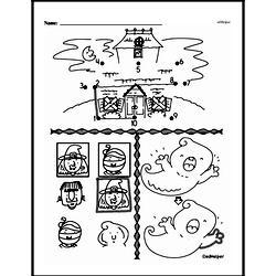 Kindergarten Math Challenges Worksheets - Puzzles and Brain Teasers Worksheet #59