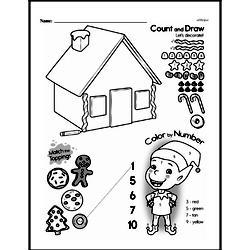 Kindergarten Math Challenges Worksheets - Puzzles and Brain Teasers Worksheet #26