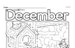 Kindergarten Math Challenges Worksheets - Puzzles and Brain Teasers Worksheet #76