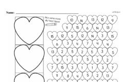 Kindergarten Math Challenges Worksheets - Puzzles and Brain Teasers Worksheet #19