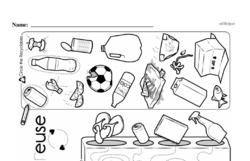 Kindergarten Math Challenges Worksheets - Puzzles and Brain Teasers Worksheet #4