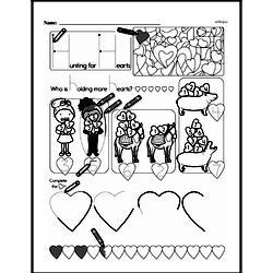 Kindergarten Math Challenges Worksheets - Puzzles and Brain Teasers Worksheet #18
