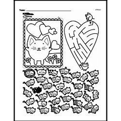 Kindergarten Math Challenges Worksheets - Puzzles and Brain Teasers Worksheet #37