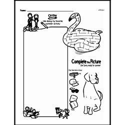 Kindergarten Math Challenges Worksheets - Puzzles and Brain Teasers Worksheet #69