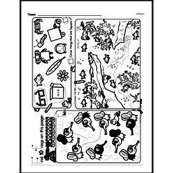 Kindergarten Math Challenges Worksheets - Puzzles and Brain Teasers Worksheet #3