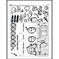 Kindergarten Math Challenges Worksheets - Puzzles and Brain Teasers Worksheet #53