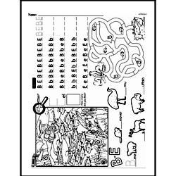 Kindergarten Math Challenges Worksheets - Puzzles and Brain Teasers Worksheet #11